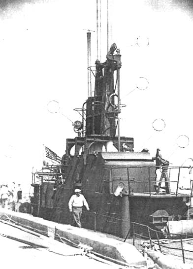 Рубка подводной лодки «Триггер», август 1944 года