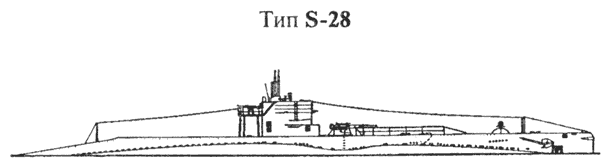 Подводная лодка типа S-28. Водоизмещение: 8541/1062 t. Размеры: 66,9 х 6,3 х 4,8м. Машины: 2-вальные дизеля + электромоторы 1200 shp/1500 shp — 14/11 узл. 3420 миль @ 6,5 узл. Вооружение: 4 ТА 533 мм (нос), 1 — 102/50 мм. Экипаж: 38 человек.