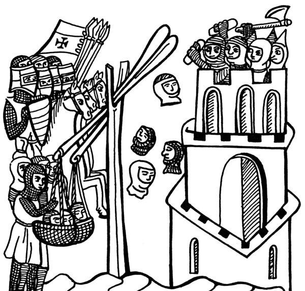 6.5. Осада и оборона замков