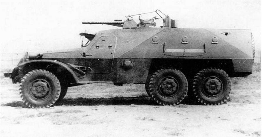Зенитный бронетранспортер БТР-152А (ЗТПУ-2)