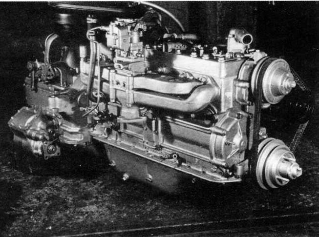 Двигатель ЗИС-123В