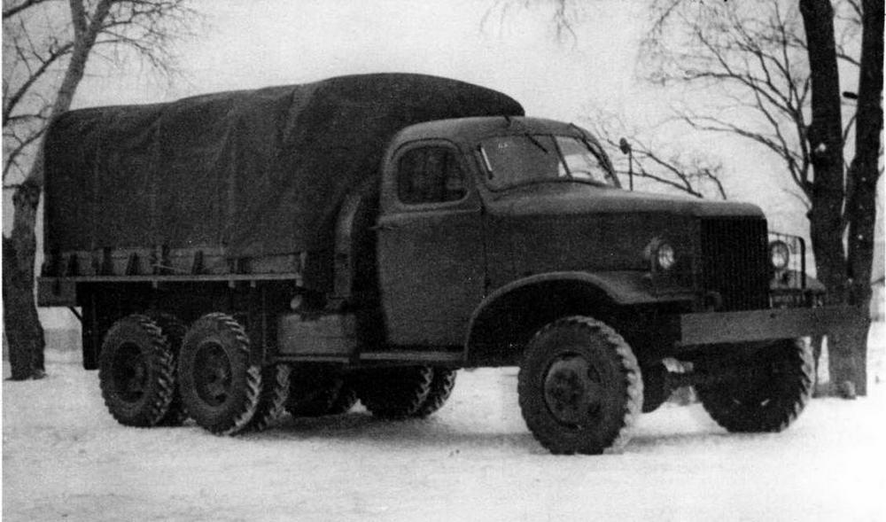 Грузовой автомобиль ЗИС-151-2 (в серии —ЗИС-/51)