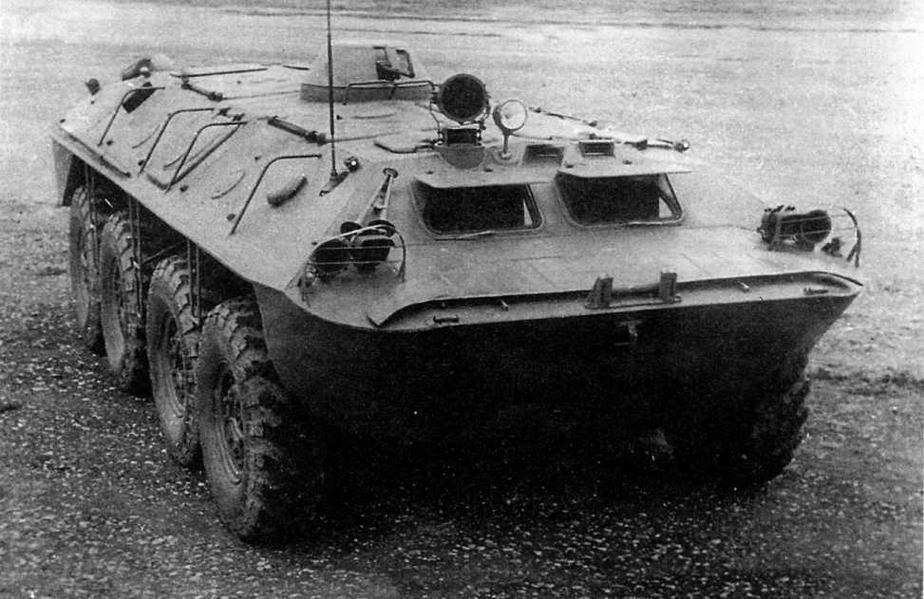 """Опытный бронетранспортер """"1015-Б"""" Кутаисского автозавода"""
