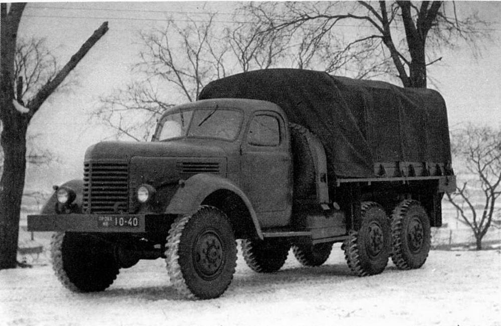 Грузовой автомобиль ЗИС-151-1