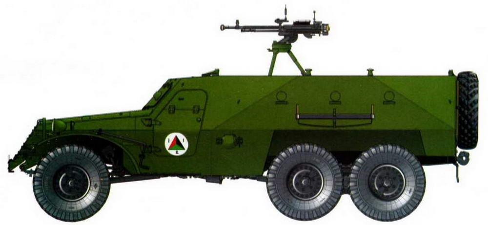 БТР-152В1, Афганистан, 70-е годы