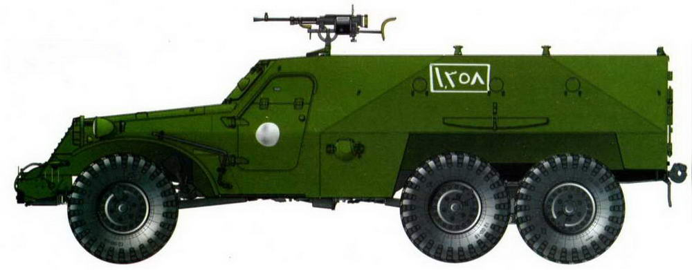 БТР-152В1, Сирия, 1982 год