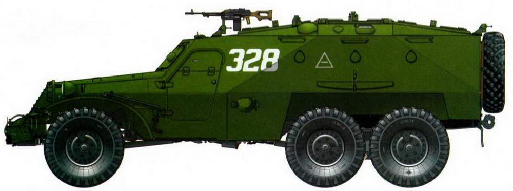 БТР-152К1, Никарагуа, 1988 год