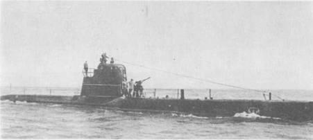 Подводная лодка М-35 в боевом походе