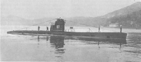 Малая подводная лодка XV серии