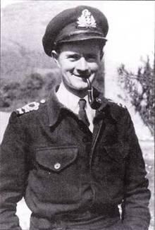 Старший лейтенант Д. Камерон, командир сверхмалой подводной лодки Х-6.