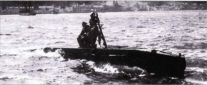 Британская сверхмалая подводная лодка тип ХЕ-7.