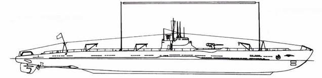Подводная лодка И-165 Первоначальный вид, 1932г.