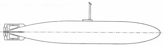 Японская сверхмалая подводная лодка типа Синкай.