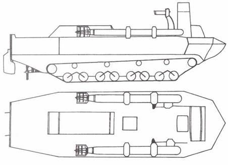 Амфибии типа Току 4-сики Найкатей.