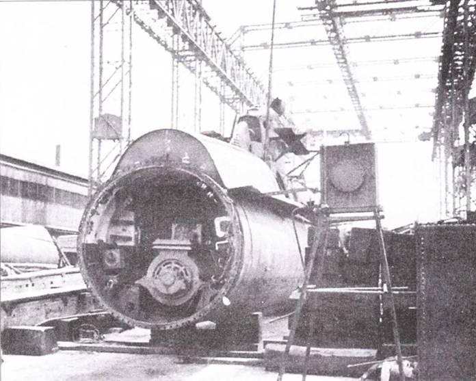 Фрагмент японской сверхмалой подводной лодки типа Кайрю.