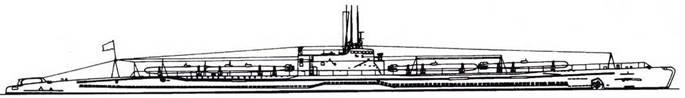 И-36 после второй переделки (шесть торпед).