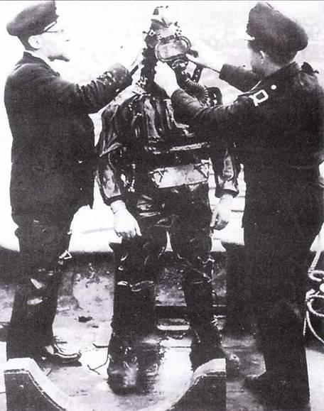 Пилот британской управляемой торпеды.