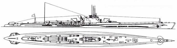 И-47 после первой переделки (четыре торпеды).