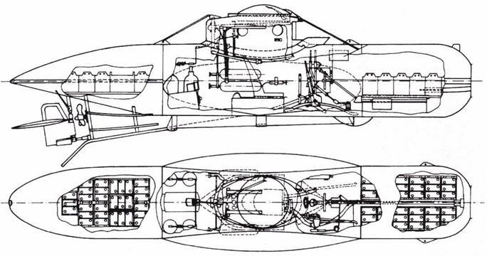 Британская <a href='https://arsenal-info.ru/b/book/870496928/34' target='_self'>сверхмалая подводная лодки</a> Welman.