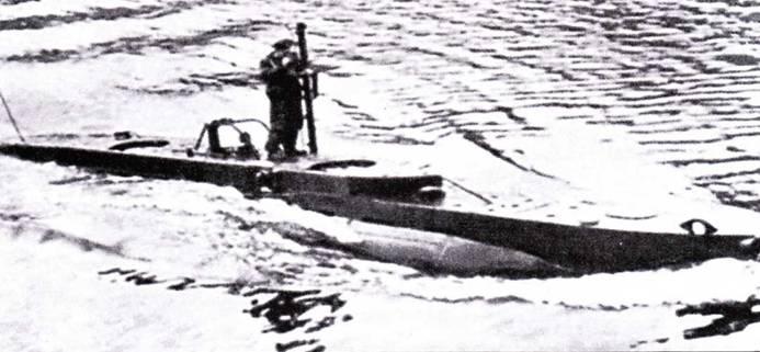 Британская сверхмалая подводная лодка тип X.