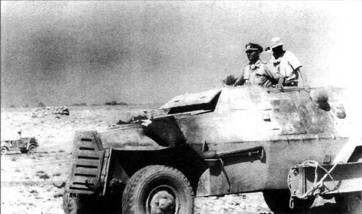 Трофейный бронеавтомобиль Marmon- Herrington Мк II, используемый в Вермахте в качестве командирской машины