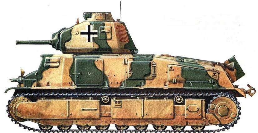 Panzerkampfwagen 35S 739(f). 202-й <a href='https://arsenal-info.ru/b/book/348132256/10' target='_self'>танковый батальон</a>, Балканы, 1944 г.