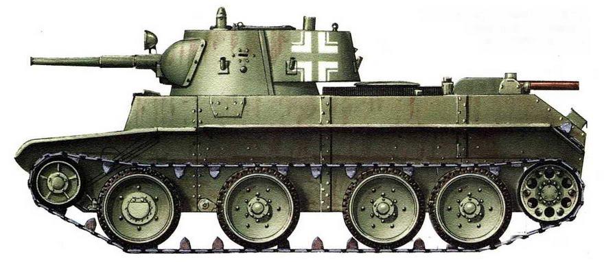 Panzerkampfwagen ВТ 7 42(r). Восточный фронт, сентябрь, 1942 г.