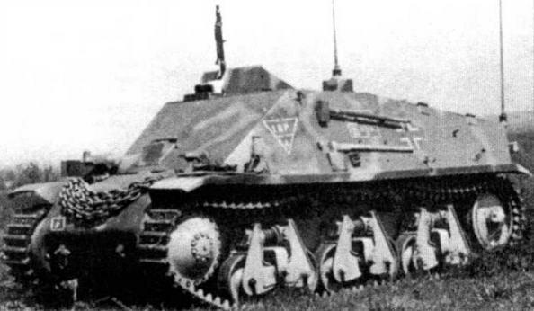 Машина передовых артиллерийских наблюдателей на базе 38H(f)