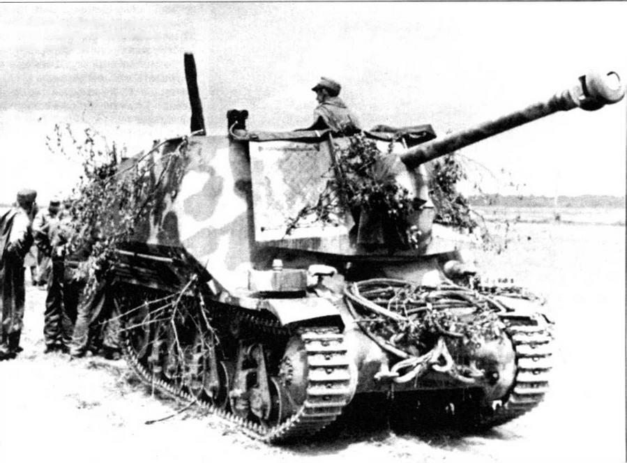 Marder I на Восточном фронте. Канун операции «Цитадель», июнь 1943 года