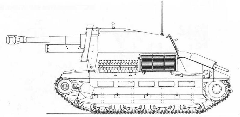 10,5-cm-leFH 16(Sf) auf Fahrgestell FCM(f)