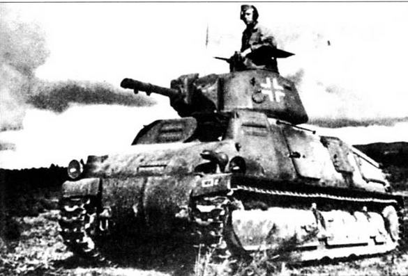 Танк 35S(f) командира 2-й роты 214-го танкового батальона. Норвегия, 1942 год
