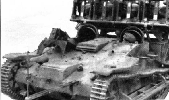 Самоходная пусковая установка для 280- и 320-мм <a href='https://arsenal-info.ru/b/book/2633435995/28' target='_self'>реактивных снарядов</a> на шасси трофейного французского легкого тягача Renault UE(f). Второй вариант установки предусматривал крепление пусковых рам по бортам корпуса машины