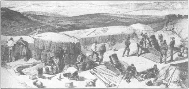 Британские мортиры под Севастополем. XIXв.