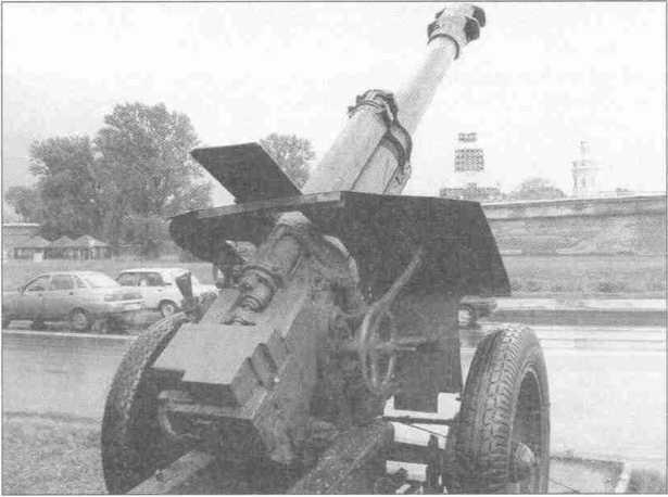 Советская 152-мм гаубица Д-1 образца 1943г.