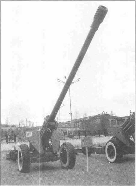 130-мм полевая пушка М-46.