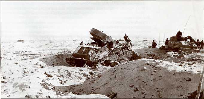 На острие удара: штурм линии Маннергейма в Ляхде
