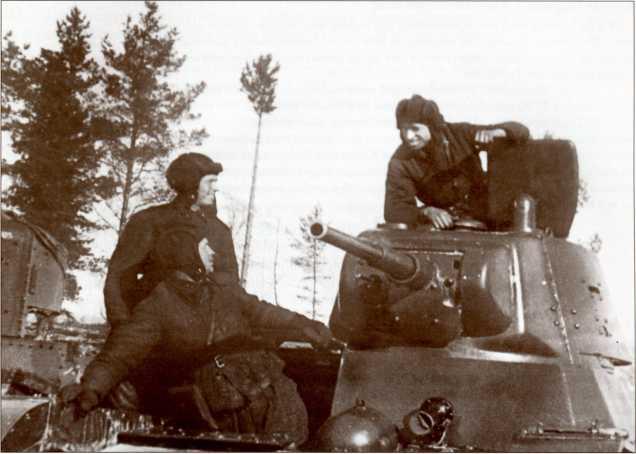 Танкисты из 368-го отдельного танкового батальона 62-й стрелковой дивизии (АСКМ).
