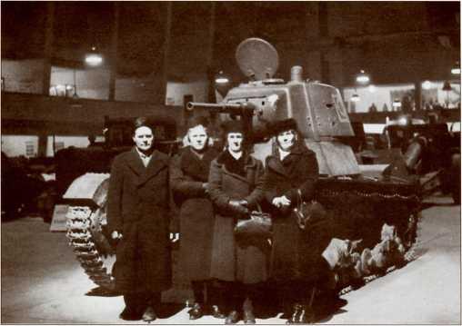 Т-26 на выставке трофеев Зимней войны, которая открылась в Финнэкспо (Хельсинки) в январе 1940 года и работала до 1942 года.