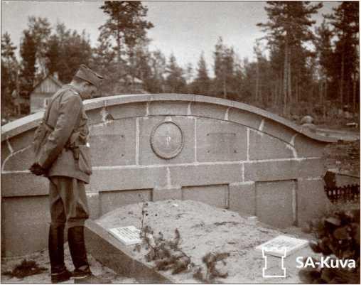 Братская могила танкистов 13-й легкотанковой бригады в Кямяря (Гаврилово), лето 1941 года. Не сохранилась.