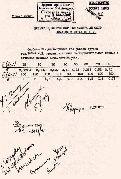 3. О СОСТОЯНИИ РАБОТ ПО РДС-БТ К НАЧАЛУ 1951 г.