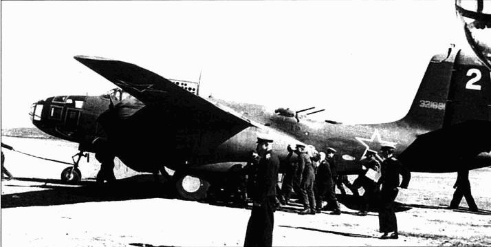 A-2QG-45-DO (43-21891, «2»), 51-й МТАП, Балтийский флот, 1944 год.