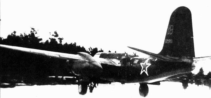 A-20G, 51-й МТАП, Балтийский флот, зата 1944/45гг.