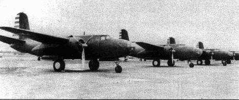 А-20А весной 1941 года поступили в 3-ю бомбардировочную группу. У машин первых серий в капоте двигателей имелись вентиляционные отверстия, а лопасти винта не были окрашены (позднее их красили в черный цвет). Пулеметы в носу фюзеляжа отсутствовали.