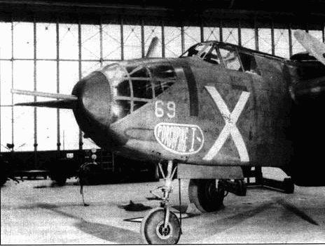 Этот А-20 А вооружили парой дистанционно управляемых турелей, а в носу фюзеляжа смонтировали 37-мм пушку. В такой конфигурации самолет получил обозначение А- 20F. Хотя серийно данный самолет не выпускался, опыт работ над ним использовался в последующих самолетах фирмы «Дуглас».