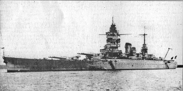 """""""Дюнкерк"""" в 1938 году"""
