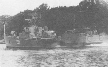 Один из МПК проекта 204 Балтийского флота