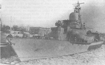 МРК-22, построенный по проекту 1134Э для ВМС Алжира
