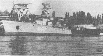 МП К-62, переоборудованный в опытовое судно ОС-573