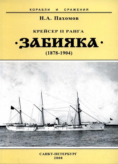 """Крейсер II ранга """"Забияка"""". 1878-1904 гг."""