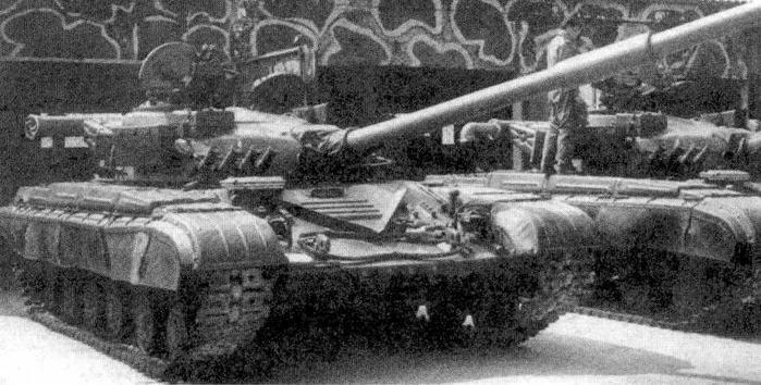 """Основной танк Т-64Б с КУВ """"Кобра''"""